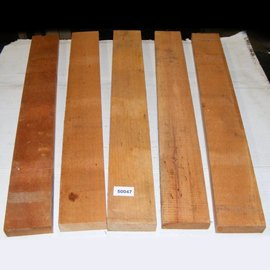 Cigarbox wood, Brasil Cedro, 5 pieces/set, 700 x 85 x 26 mm, 4 kg