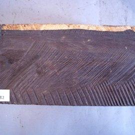 African Blackwood  approx. 150 x 85 x 365 mm, 4,1 kg