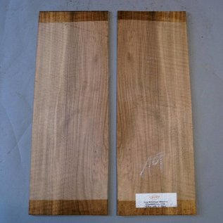 European Walnut Bottoms, approx. 520 x 200 x 4 mm, mirror cut, 2009