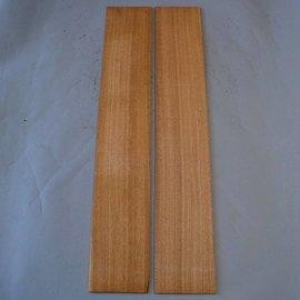 Sapeli Mahagony Sides, approx. 825 x 140 x 4 mm
