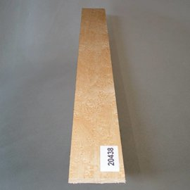 Birds eye maple, fingerboard, 520 x 70 x 10 mm, 0,4 kg