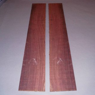 Eastindian rosewood western, sides, approx. 870 x 130 x 5 mm