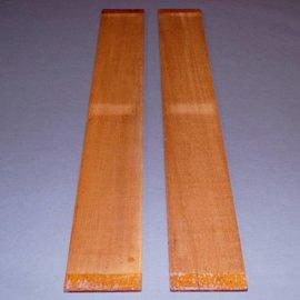 Swietenia Mahagony sides, approx. 780 x 105 x 5 mm