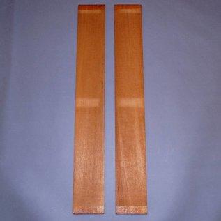 Swietenia Mahagoni, Zargen ca. 780 x 105 x 5 mm, 0,6 kg