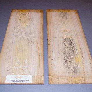 Rüster, Böden B-Qualität, ca. 520 x 200 x 4,5 mm, 0,6 kg, spiegelbildlich