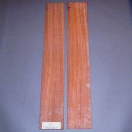 Padouk sides, approx. 825 x 125 x 4 mm
