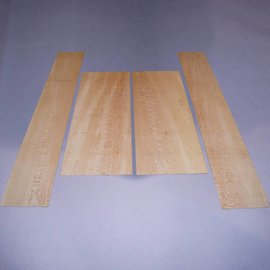 Plane set bottoms & sides, B: 570 x 220 x 4 mm, S: 870 x 140 x 4 mm
