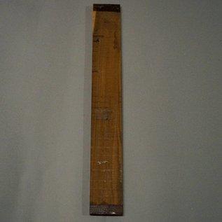 Bocote Griffbrett 1. Wahl 530 x 70 x 9 mm, 0,5 kg