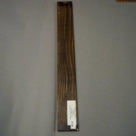 Makassar Ebenholz  Griffbrett 1. Wahl 700 x 85 x 9 mm, 0,7 kg