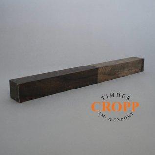 Div. Maße - Ebenholz, streifig, Ebony Kantel