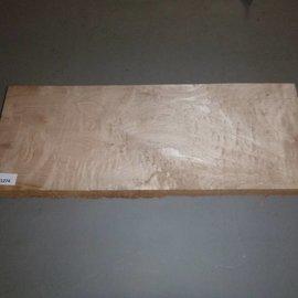 Soft Maple - amerikanischer Spitzahorn - quilted Gitarrenbody ca. 590 x 220 x 50 mm, 4,0 kg