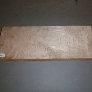 Soft Maple quilted Gitarrenbody ca. 590 x 220 x 50 mm, 4,0 kg