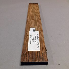 Bocote Fingerboard, approx. 530 x 70 x 9 mm