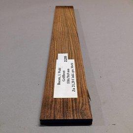 Bocote Griffbrett ca. 530 x 70 x 9 mm
