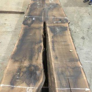 Räuchereiche Tischplatte ca. 3500 x 1060 x 65 mm, ca. 170 kg