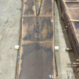 Räuchereiche Tischplatte ca. 3500 x 940 x 65 mm, ca. 150 kg
