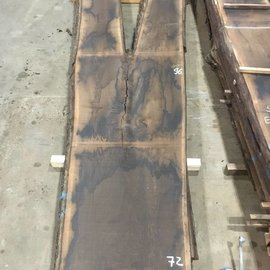 Smoked  oak table top, approx. 3500 x 940 x 65 mm, approx. 150 kg