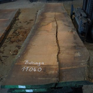 Bubinga table top, approx. 4200 x 1050 x 80 mm