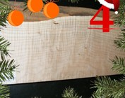 [4] Spitzahorn Body, geriegelt, Gitarrenbau