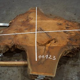 Sapeli Mahagony table top, approx. 2000 x 2200 x 52 mm
