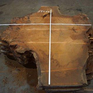 Sapeli Mahagoni Tischplatte, ca. 2200 x 1800 x 52 mm