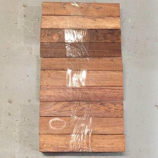 Honduras Palisander 10-er Set ca. 175 x 30 x 30 mm