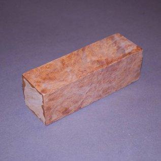 Golden Madrone Knifegrips, Set, 40 x 40 x 120 mm, 2,8 kg