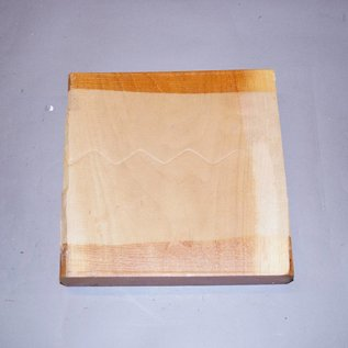 Europäischer Kirschbaum ca. 255 x 255 x 52 mm, 2,0 kg