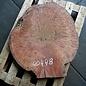 Jarrah Maser Tischplatte, ca. 850 x 760 x 60 mm, ca. 39 kg