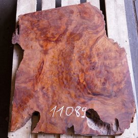 Camphor table top, approx. 850 x 700 x 45 mm, 22 kg, 11089