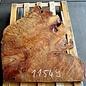 Kampfer Tischplatte, ca. 950 x 750 x 55 mm, 31 kg, 11549