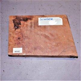 Sindora Burl approx. 270 x 180 x 50 mm, 2,6 kg