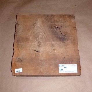 Rüster Maser ca. 400 x 400 x 75 mm, 8,3 kg