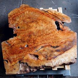 Kampfer Tischplatte, ca. 1200 x 1150 x 50 mm, 53 kg, 11583