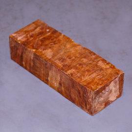 Ironwood Burl Knifegrip, approx.  130 x 40 x 25 mm, 0,2 kg