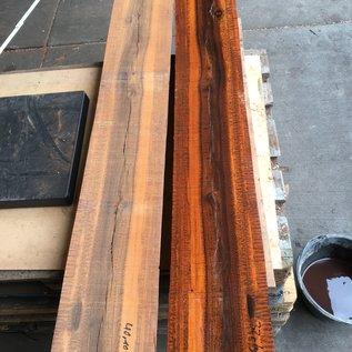 Snakewood, Half log pair, approx. 1,50 m lang, 72,1 kg