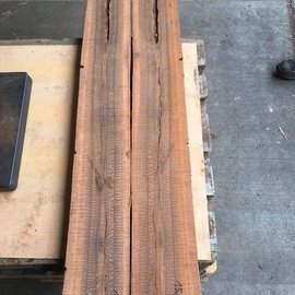 Snakewood, Half log pair, approx. 1,30 m lang, 30,09 kg