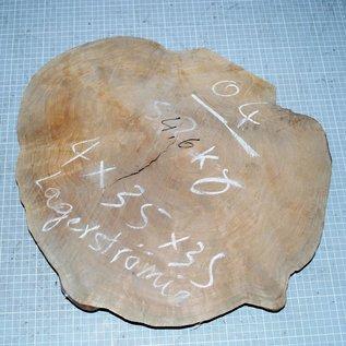 Lagerströmia Maser, ca. 380 x 330 x 40 mm, 4,5 kg
