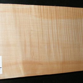 Softmaple Body fiddleback, approx. 560 x 200 x 54 mm 21030