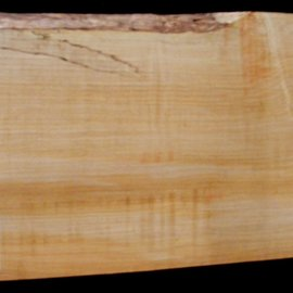 Softmaple Body fiddleback, approx. 559 x 220 x 55 mm 21019