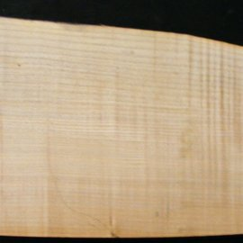 Softmaple Body fiddleback, approx. 557 x 205 x 54 mm 21009