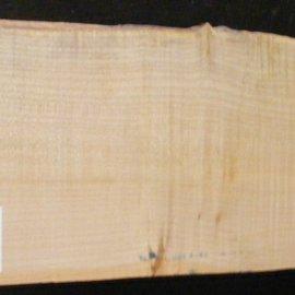 Softmaple Body fiddleback, approx. 555 x 200 x 54 mm 21001