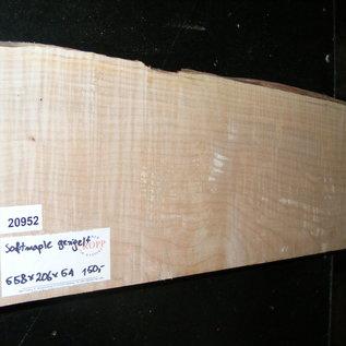 Softmaple Body geriegelt, ca. 558 x 206 x 54 mm