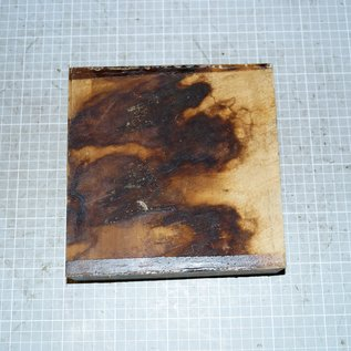 African Birch approx. 180 x 180 x 55 mm, 2,4 kg