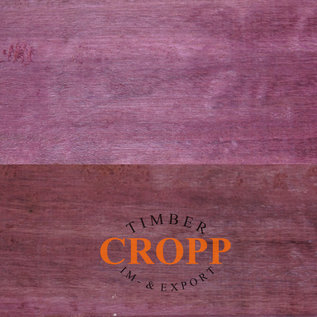 Cropp timber Purpleheart Dimension