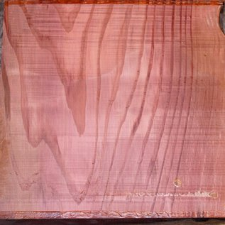 Redwood table top, approx. 1800 x 1500 x 90 mm, 11443