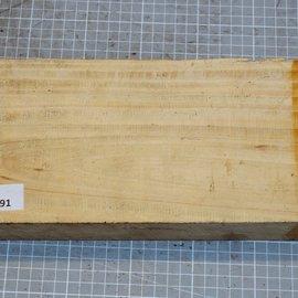Satin, Zitronenholz, ca. 290 x 140 x 50 mm, 2 kg