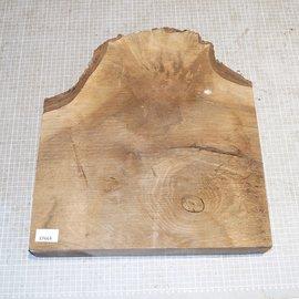 Kaukasus Nussbaum Maser, ca. 430 x 400 x 65 mm, 7 kg