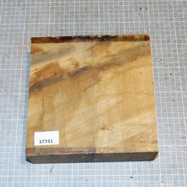 African birch, approx. 210 x 210 x 62 mm, 2,9 kg