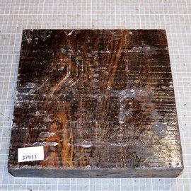 Bocote, approx. 260 x 255 x 55 mm, 4 kg